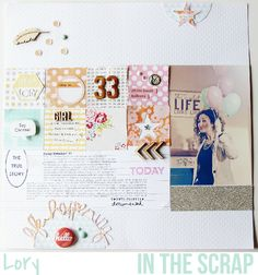 In The Scrap: Reto Junio: Mi celebración