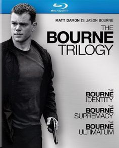 The Bourne Trilogy (The Bourne Identity / The Bourne Supremacy / The Bourne Ultimatum) [Blu-ray or DVD] ... Matt Damon!