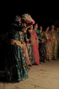 Tenues traditionnelles kurdes