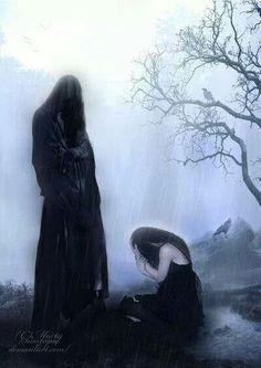 Powerful, beautiful and heart wrenching #artwork depicting #grief. Walker Funeral Home - Cincinnati OH www.herbwalker.com