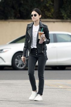 Celebrity Street Style of the Week: Lucy Hale, Margot Robbie,
