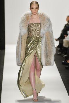 Dennis Basso Fall 2020 Ready-to-Wear Fashion Show - Vogue Fur Fashion, Couture Fashion, Runway Fashion, High Fashion, Winter Fashion, Fashion Show, Fashion Design, Fashion 2015, Fashion Trends