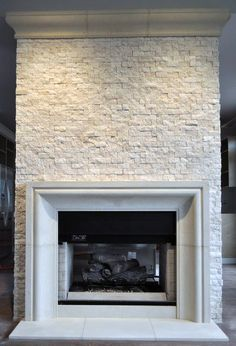 Stone Fireplace Designs Ideas Modern Mantels Sandstone Cast