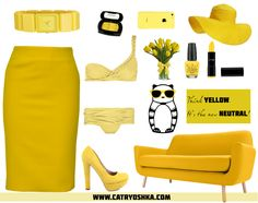 Think yellow. It's the new neutral!  www.catryoshka.com