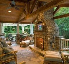 outdoor porch living