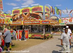 and all of your favorite great Fair food at the Florida Strawberry Festival!