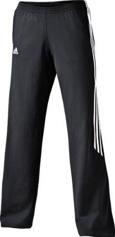 W PERF BASICS PANT BLK/WHT :Size X by adidas. $37.80