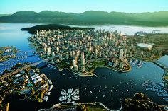 Vancouver, Canada, vista aerea