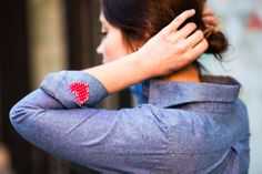 #DIY 4 Ways to Wear Your Heart on Your Sleeve *and* Your Shirt!