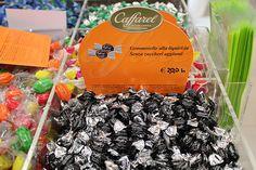 GOMMOSELLE  Caramelle gommose alla liquirizia Caffarel. Ridotto contenuto calorico.