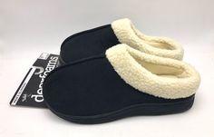 #keywebco Men's Memory Foam... found at  http://keywebco.myshopify.com/products/mens-memory-foam-slippers-clog-black-cream-size-s-7-8-dearfoams-new?utm_campaign=social_autopilot&utm_source=pin&utm_medium=pin