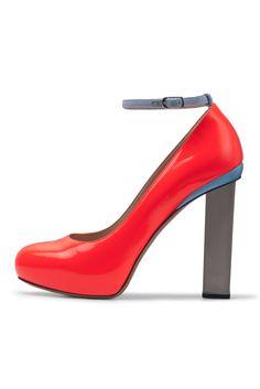 Style.com Accessories Index : spring 2012 : Nicholas Kirkwood  ~~* EKKK!  MORE FUN COLOR *~~