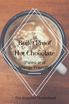 Use Stevia in place of the honey for a Trim healthy mama drink. Three steps to this delicious, kid approved, healthy Hot Chocolate. Bullet Proof Hot Chocolate made with healthy fats and naturally sweetened.