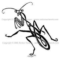 tribal-mantis-tattoo-design.jpg (400×390)
