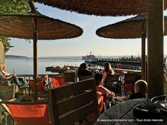 Bavière: Le Biergarten idyllique Fischer de Stegen au bord du lac Ammersee. Découvrez les plus beaux lacs de Bavière: https://www.yourcitydreams.com/voyage-en-baviere/lacs/