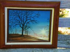Gone with the Wind Daybreak Sunrise Oil by adventureoriginals, $69.00