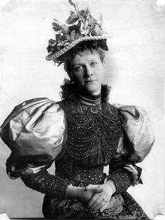 Portrait of Minnie Zabriskie