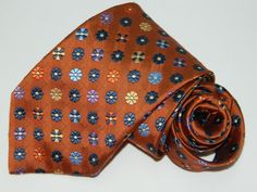d414785baf7d Men's Jos. A. Bank Signature Collection Floral Silk Neck tie made in Italy #