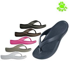 Dawgs Women's Stylish Flip Flops - Assorted Colors at 60% Savings off Retail!