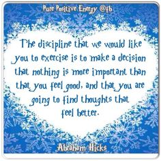 abraham hicks law of attraction - Yahoo Image Search Results Positive Thoughts, Positive Vibes, Positive Attitude, Positive Quotes, Abraham Hicks Quotes, Think, Love And Light, Positive Affirmations, Law Of Attraction