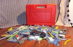$22.99 K'NEX Red Storage Box Full of K'nex Lot Random Spare Parts/Pieces Free Shipping  #KNEX #toys #kids #children #red #pieces #parts #shop #buy #collection #shop #buy #ebay #fun #giftidea #memories