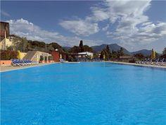 Pool in Manerba del Garda, Lake Garda, Italy