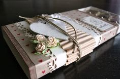 Other: Decorated toffifee box Chocolate Card, Lindt Lindor, Diy And Crafts, Paper Crafts, Flower Food, Cute Packaging, Diy Box, Diy Cards, Stampin Up