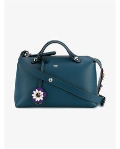 FENDI Small Leather Floral By The Way Bag.