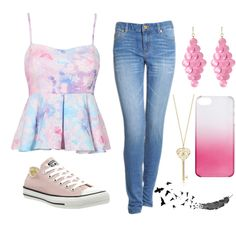 Untitled #671 by fashionmaven591998 on Polyvore featuring polyvore fashion style Michael Kors Converse Amrita Singh J.Crew