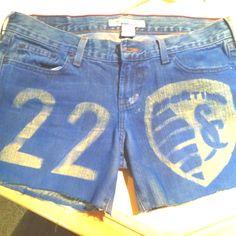 Sporting KC shorts!