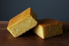 A cornbread that ditches the dairy while remaining moist, slightly sweet, and snackable.