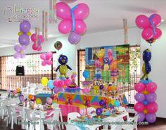 Decoración Fiesta Backyardigans www.happy-occasions.com