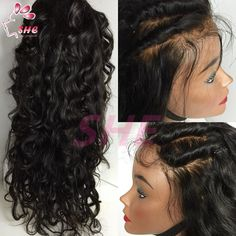 Full Lace Human Hair Wigs With Baby Hair Brazilian Lace Front Wigs With Baby Hair Brazilian Virgin Hair Wig for Black Women Online with $72.88/Piece on Sheladyhouse's Store | DHgate.com