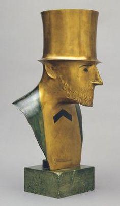Elie Nadelman. Man in Top Hat. c. 1920-24
