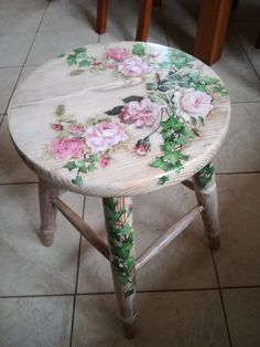 "Get fantastic recommendations on ""shabby chic furniture diy"". They are offered for you on our internet site. Get fantastic recommendations on ""shabby chic furniture diy"". They are offered for you on our internet site. Decoupage Furniture, Hand Painted Furniture, Paint Furniture, Upcycled Furniture, Furniture Makeover, Furniture Ideas, Hand Painted Chairs, Furniture Design, Painted Tables"