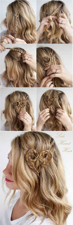 New hair styles messy updo open backs Ideas - hair - hair Side Braid Hairstyles, Braided Hairstyles For Wedding, Trendy Hairstyles, Sweet Hairstyles, Side Head Braid, Updo Side, Side Braids, Hair Extension Clips, Indian Human Hair