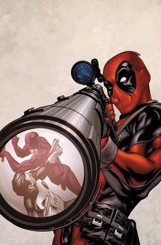 First Look: Deadpool Costume - For those of you anxious to get your first look at Ryan Reynolds as Deadpoolcheck out Reynolds' official tweet below. It's not a whole lot, but it looks like things will remain pretty faithful to the comic book counterpart. Sepia tone disguises the fact the mask is ballerina pink. ...