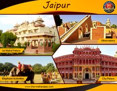 """Jaipur is the gateway to India's most flamboyant state Rajasthan also known as """"Pink City"""" one of the most royal, majestic & colourful city. Explore Jaipurs' City palace, Jai Mahal Palace, Elephant Activities & Jantar Mantar and get closer look at heritage of India with Maharajas' Express lavishing tour.  #Royalityontrain #luxurytravel #indiatravel #incredibleindia #luxuryindia #luxurytrainsindia #Jaipur"""