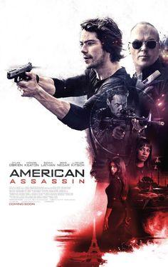 Michael Keaton, Sanaa Lathan, Taylor Kitsch, Shiva Negar, and Dylan O'Brien in American Assassin (2017)
