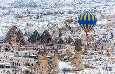 Cappadocia, Central Anatolia, Turkey  #Cappadocia #Anatolia #Turkey #Maladeviagem