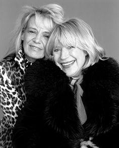 Anita Pallenberg & Marianne Faithfull