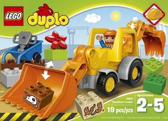 LEGO DUPLO Town Backhoe Loader 10811, Pre-Kindergarten Large Building #Lego