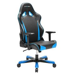 DXRacer TS29 Tank Series Racing Bucket Seat Office Chair Gaming Ergonomic with Lumbar Support (Blue)   Gaming Chair Reviews And Ratings