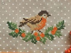 Crochet ideas that you'll love Tiny Cross Stitch, Xmas Cross Stitch, Cross Stitch Needles, Cross Stitch Borders, Cross Stitch Animals, Cross Stitch Flowers, Cross Stitch Designs, Cross Stitching, Cross Stitch Embroidery