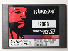 KINGSTON SSDNOW 300 120GB SV300S3B7A120G INTERNAL SOLID STATE DISK 740617212662 #Kingston