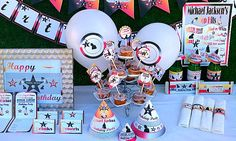 Michael Jackson Printable Party Supplies | Invitations, Water Bottle Labels