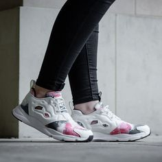 Up your sneaks game this summer in the Reebok Womens Furylite SR Trainer. 65d9106c7