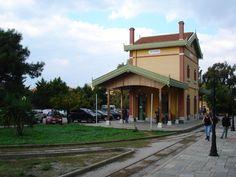 Ano Lehonia train station