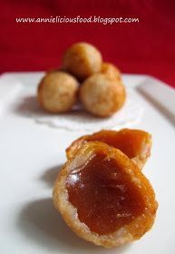Annielicious Food: Fried Nian-Gao Balls / Sticky Rice Cake (炸年糕球)