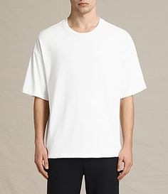 ALLSAINTS IVON SHORT SLEEVE CREW T-SHIRT. #allsaints #cloth #